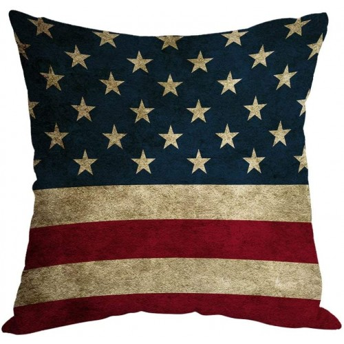 Cuscino stile USA, Bandiera Americana da 45 cm, idea regalo