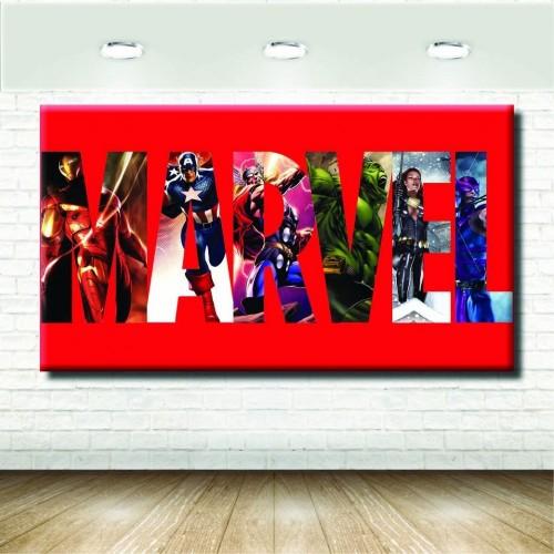 Telo Marvel, poster, banner per feste e decorazioni