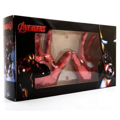 Guanti Cosplay Prop, Guanti modello giocattolo con luci a led Modello indossabile a mano Giocattoli personalizzati con guanti