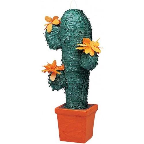 Pignatta a forma di Cactus, accessorio per feste Messicane