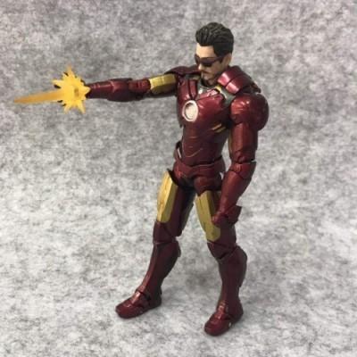 ZHI PENG Avengers Infinite War Iron Man Statua Modello Master Star Statue Edizione Speciale Decorazione/Giocattoli/Collezione