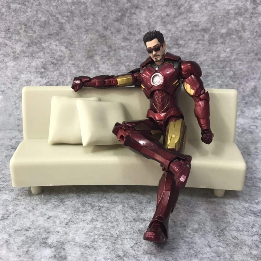 Action Figures - statuina Iron Man - Avengers modellino