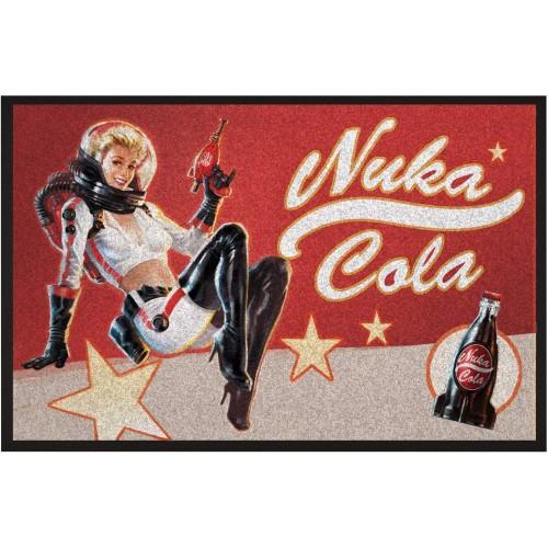 Zerbino Nuka Cola Pin-Up, con il logo Nuka World