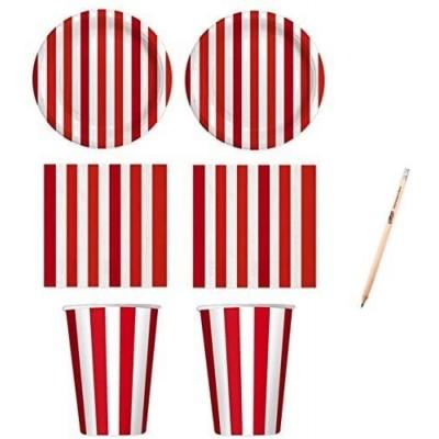 Kit per 16 persone festa Circo, Pin Up, feste a tema