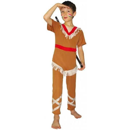 Costume da Indiano per bambini, età 5/7 anni