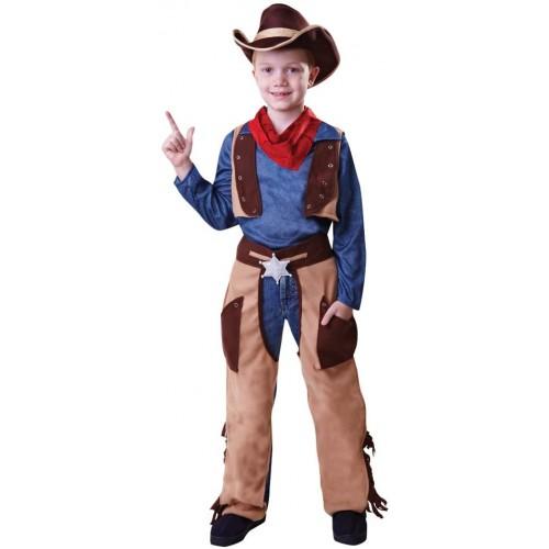 Costume da Cowboy per bambini, travestimento Selvaggio West