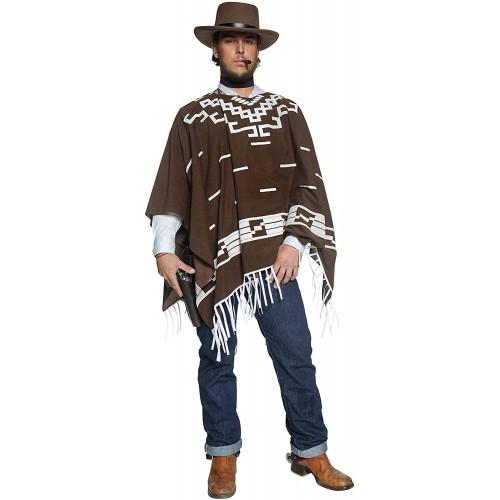 Costume da Pistolero Western per adulti, travestimento Carnevale