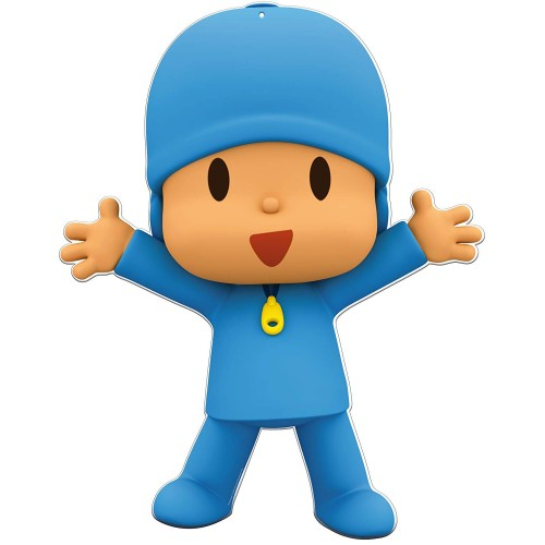 Sagoma Pocoyo in cartoncino
