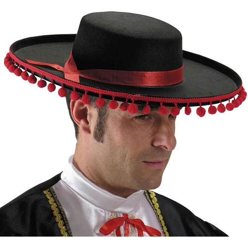Cappello Caballero per Adulti, festa Spagnola
