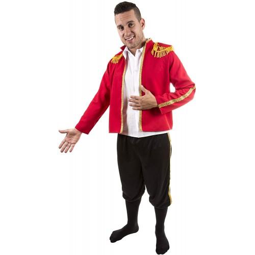 Costume da Torero per adulti, travestimento per Carnevale