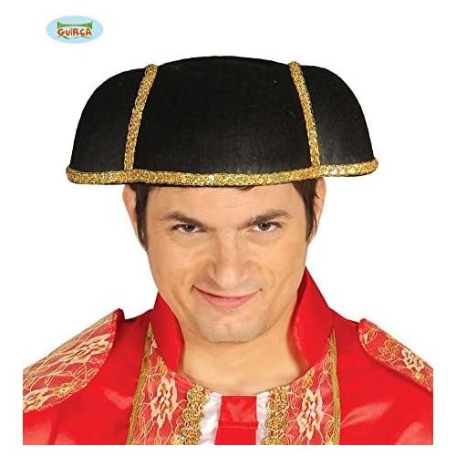 Cappello da torero in feltro, per travestimenti da Matador Spagnolo