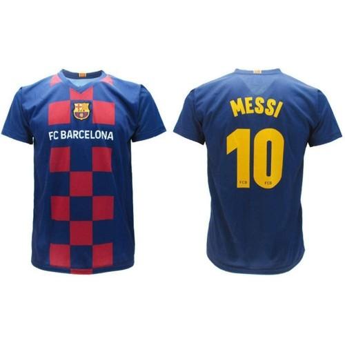Maglietta per bambini di Messi 2020 F.C Barcelona Ufficiale, versione Home