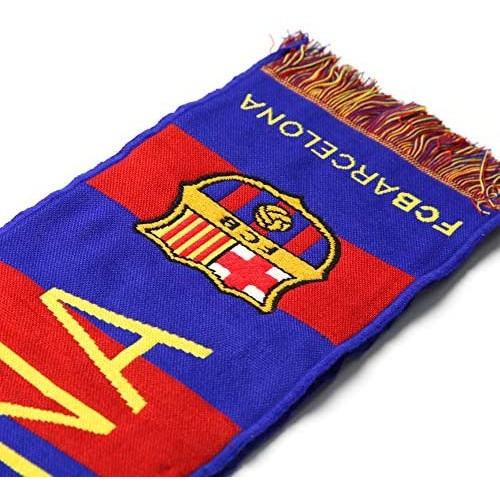 Sciarpa F.C Barcelona, da 120 x 20 cm, Ufficiale Barça
