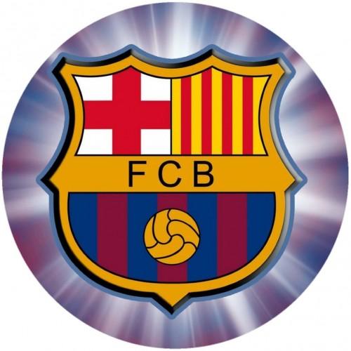 Cialda per torta F.C Barcelona, ostia gluten free