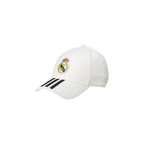 Berretto Real Madrid, Adidas, bianco, taglia unica, Ufficiale