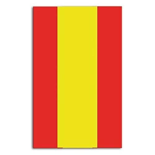 Tovaglia della Spagna per feste a tema, in PVC, da 120 x 180 cm