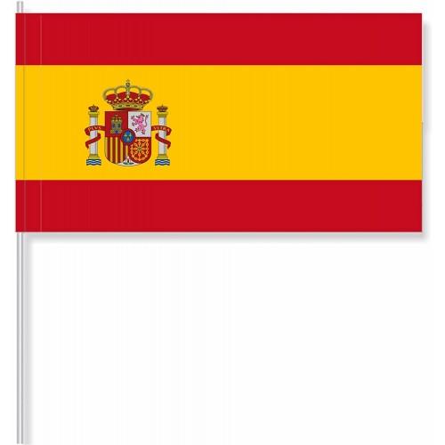Set da 50 bandierine di carta Spagna, per aperitivi