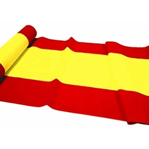Bandiera della Spagna lunga, da 500 x 90 cm