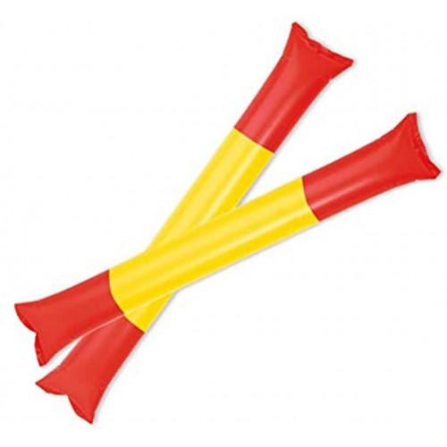 Set di 5 paia di bastoni gonfiabili Spagna, palloni gonfiabili da stadio