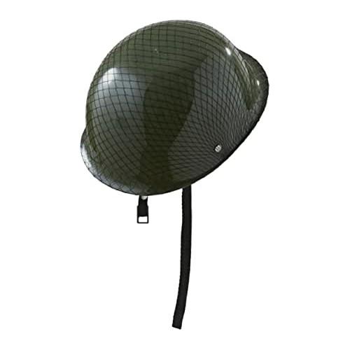 Elmo da soldato per travestimenti militari, taglia unica