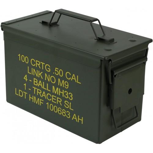 Cassa per munizioni in Stile Militare USA, con manici, chiusura ermetica