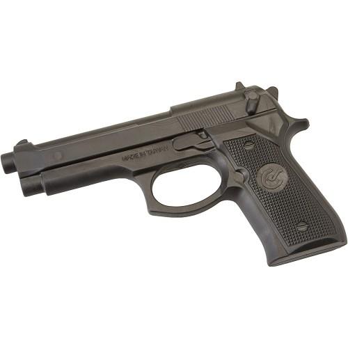 Pistola giocattolo in gomma, accessorio per travestimenti o esercitazioni