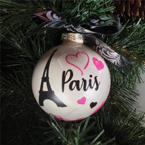 Set di 24 palline di Natale infrangibili per albero di Natale Guajave