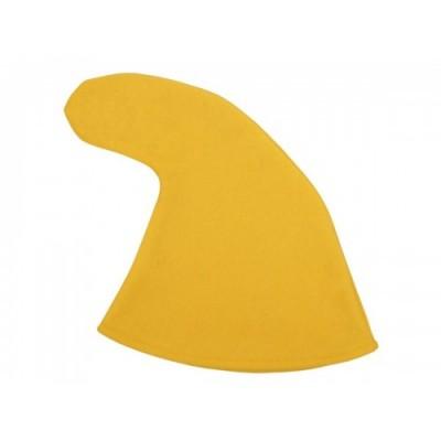 Alsino Cappello da Nano | Giallo | Taglia Unica per Adulti | Accessorio per Carnevale | Festa a Tema, KH-303 Giallo