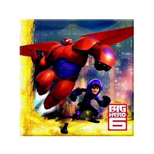 Tovaglioli Big Hero 6