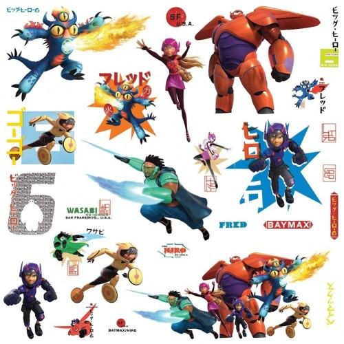 Adesivi Murali di Big Hero 6