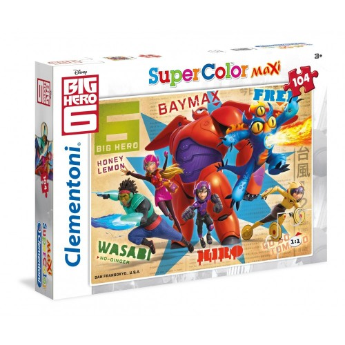 Puzzle Big Hero 6 Puzzle - Clementoni