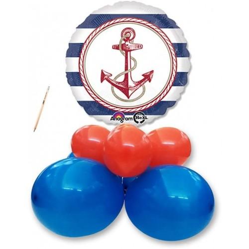 Centrotavola palloncini Nautica - Marino, per feste e party