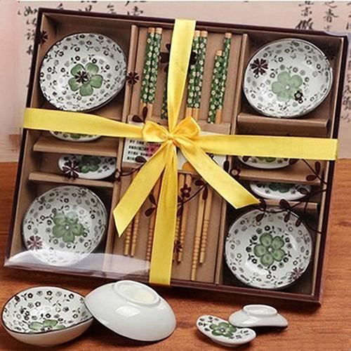 Kit per sushi per quattro persone, 12 articoli, per ristoranti, idea regalo