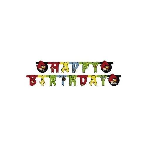 Ghirlanda Angry Birds -Happy Birthday