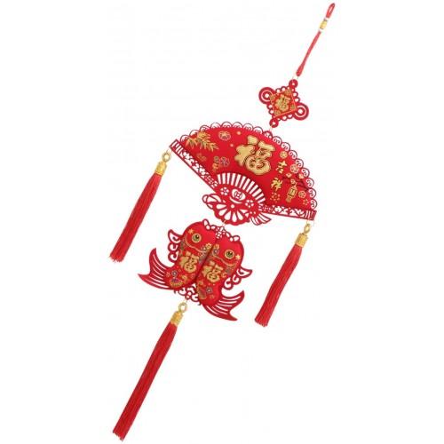 Lanterna pendente Cinese, per festa della Primavera, capodanno cinese