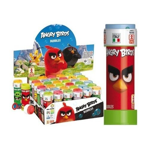 36 Bolle di sapone Angry Birds