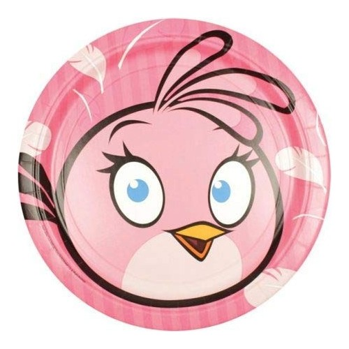 Piatti rosa Angry Birds