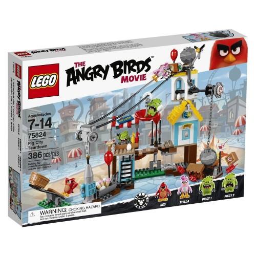 Lego The Angry Birds - La Demolizione di Pig City