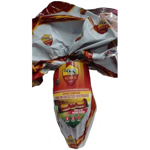 Uovo di Pasqua AS Roma Ufficiale da 320 gr, idea regalo