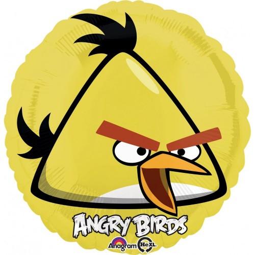 Palloncino Angry Birds uccello giallo