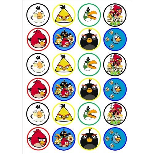 Mini cialde Angry Birds
