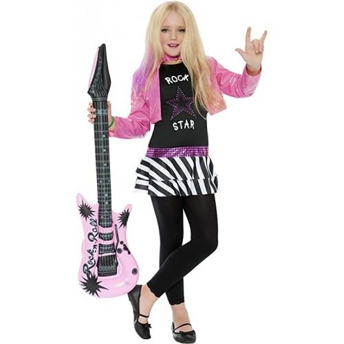 Costume da Rockstar Glam, da ragazza, per travestimenti