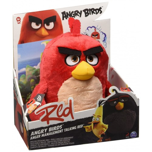 Peluche Angry Birds uccellino rosso
