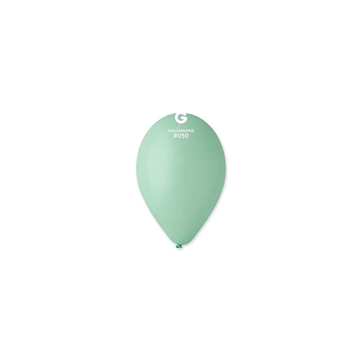 Set da 100 Palloncini colore Tiffany, G90/50, per feste
