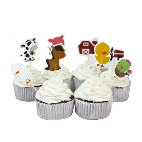 24 Pezzi Party2u Winnie The Pooh Torta Cupcake Toppers Decorazione