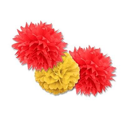 fluffy rosso e giallo