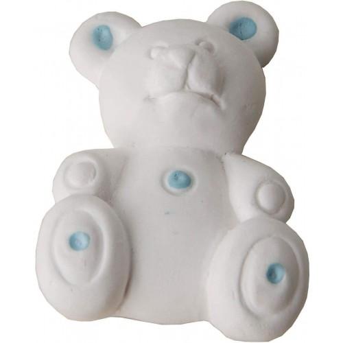 Kit da 48 Gessetti bianchi a forma di orsetto, profumati, per bomboniere