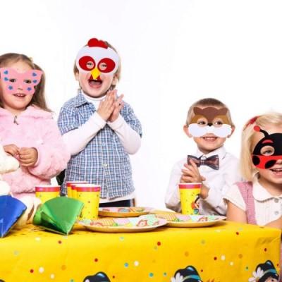 Childrens plastica Maschera Fattoria degli Animali