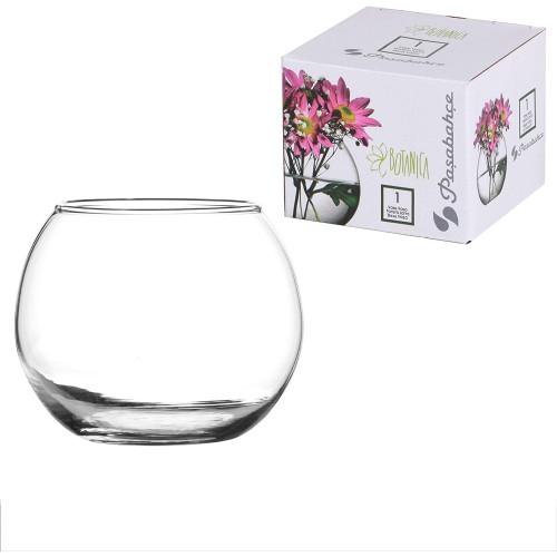Ampolla vaso di vetro per confettate da 7 x 7 x 7 cm, decorazione tavola