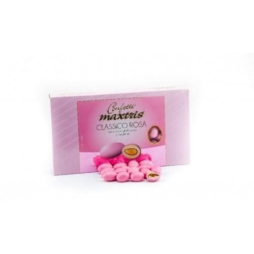 Confetti classici rosa Maxtris da 1 kg, made in Italy